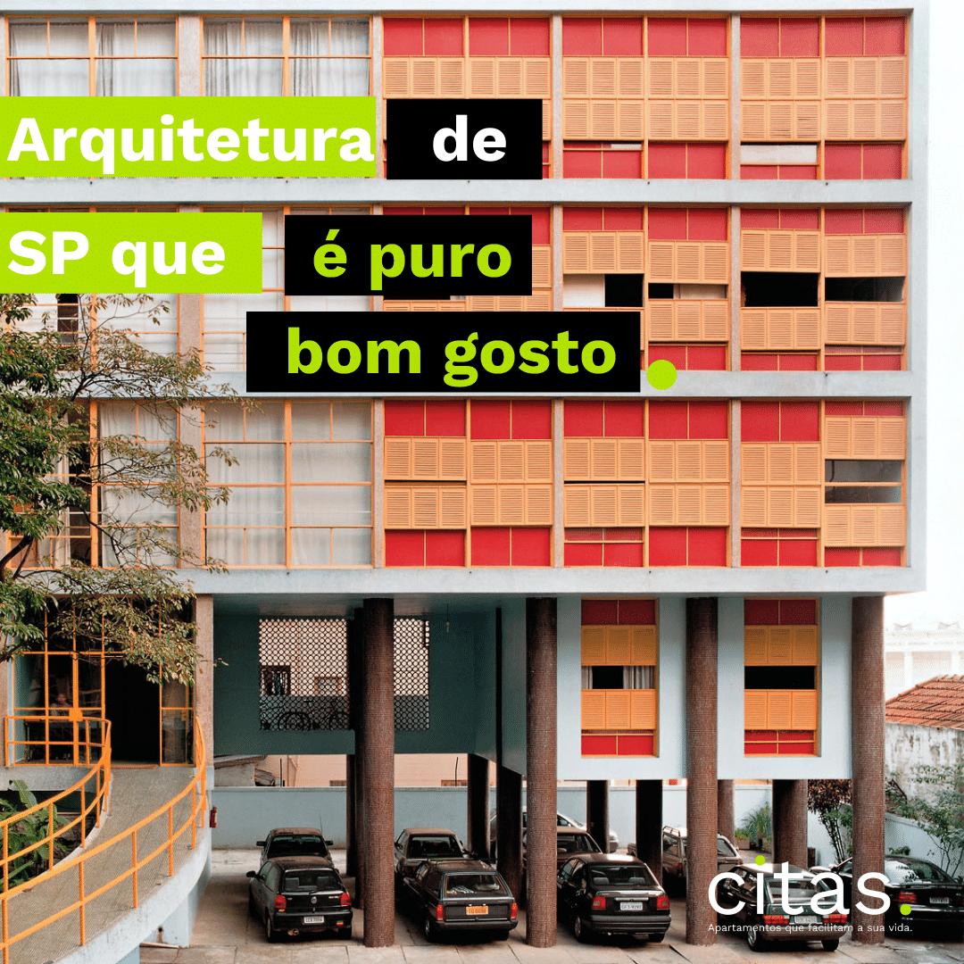Arquitetura em São Paulo que é puro bom gosto