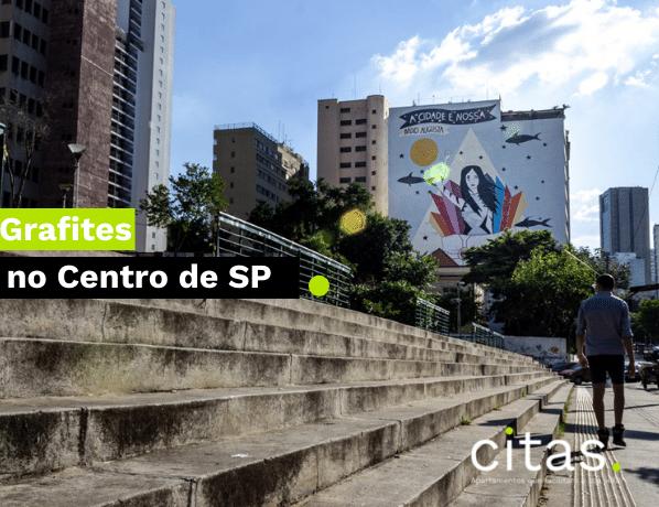 Grafites do centro de SP: Roteiro para apreciar os grafites mais bacanas!