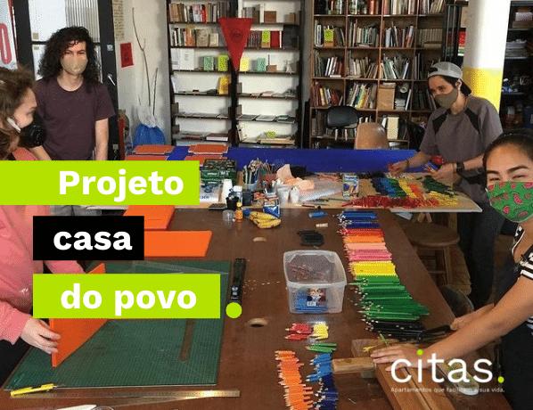 Casa do Povo: mais que um projeto social, uma reunião de futuros