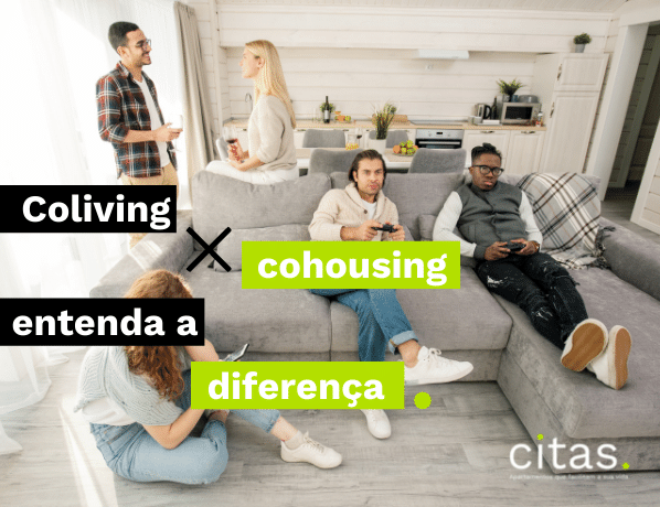 Coliving x Cohousing: entenda a diferença!