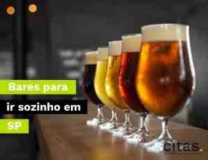 Bares para ir sozinho em São Paulo: Conheça os melhores