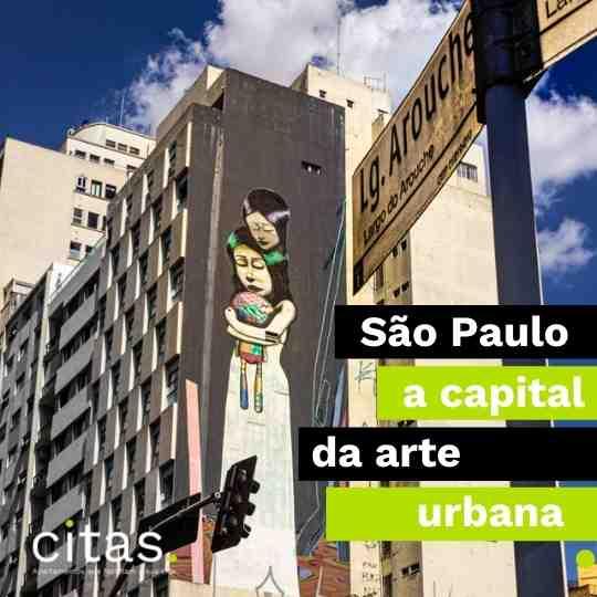 SP, capital da arte urbana - um olhar sobre os grafites de SP