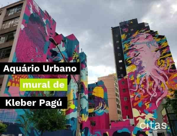 Aquário Urbano de SP: Mural de Kleber Pagú