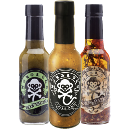 hot sauce product photo