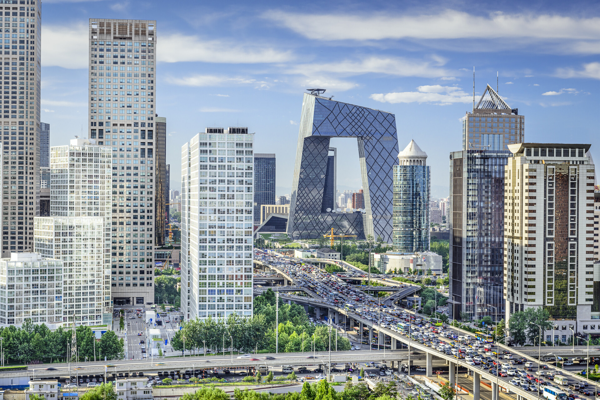 china city image
