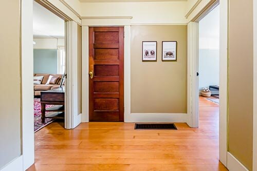 Entry way to rooms in second floor of home