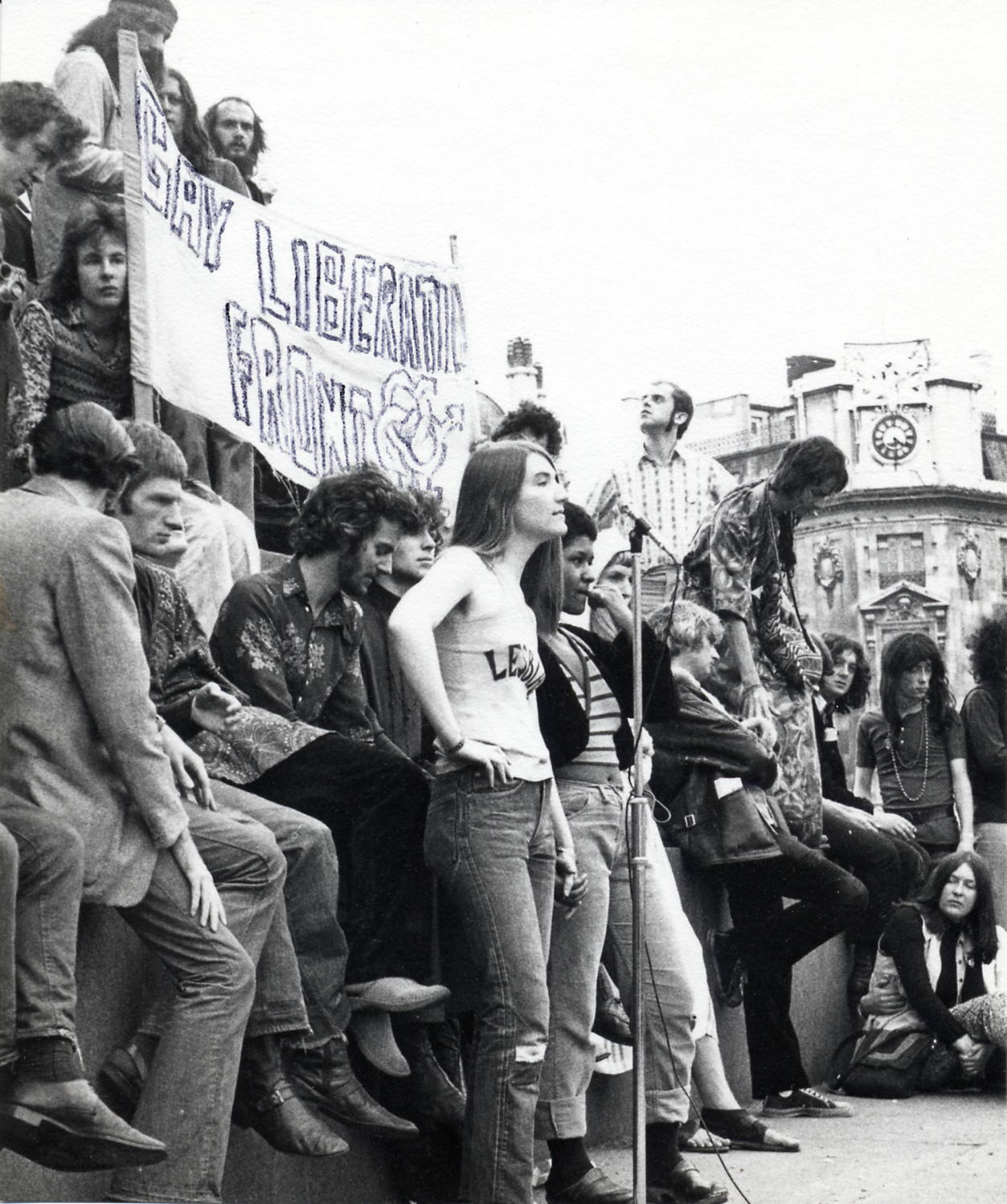 A Gay Liberation Front march in the 1970s