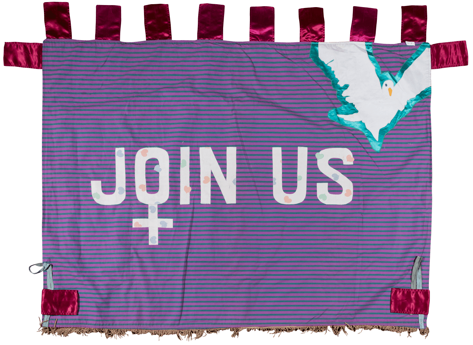A banner that reads: JOIN US