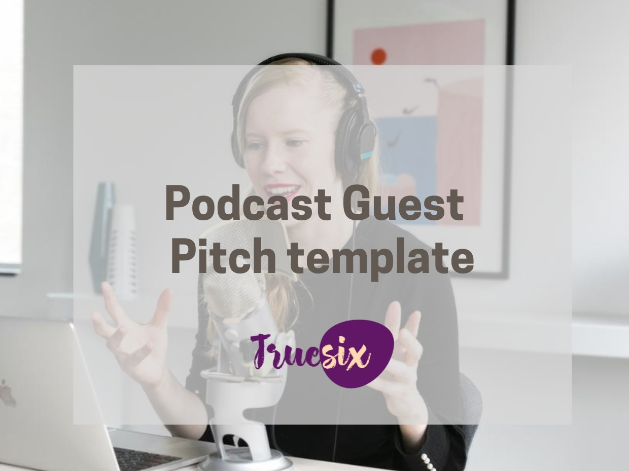podcast pitch template