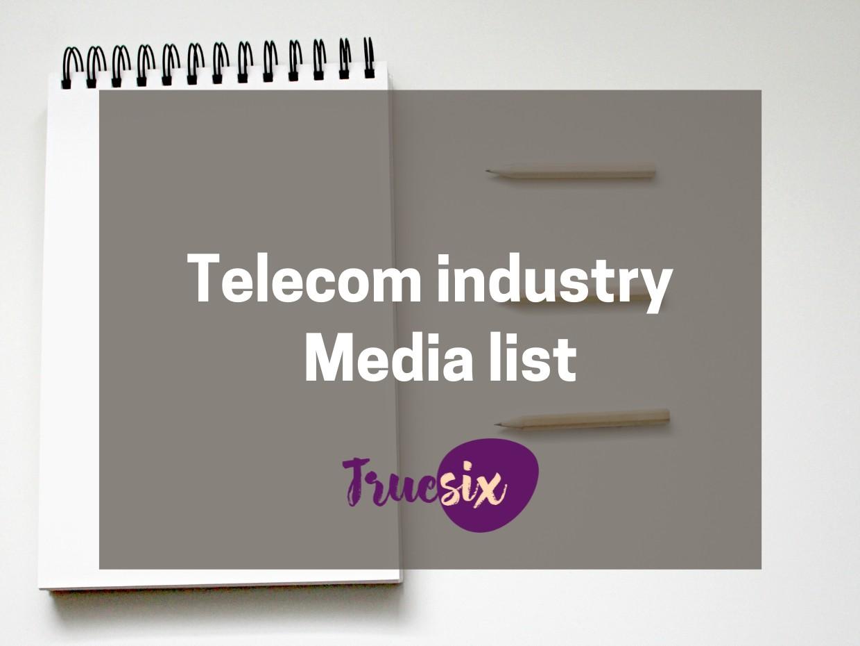 telecom media list