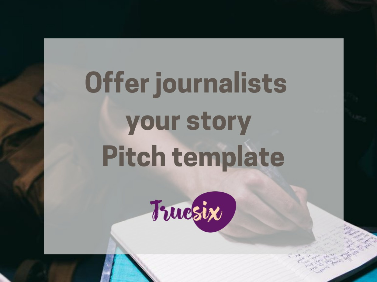 story pitch template