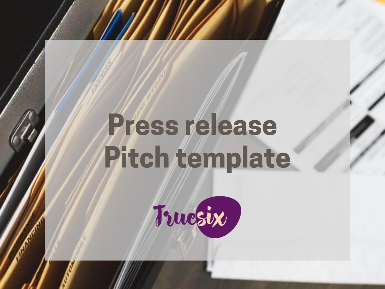 press release pitch