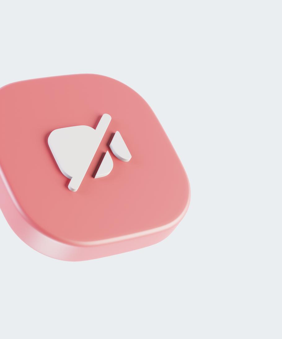 3D UI Bit illustration, the camera cut red button.