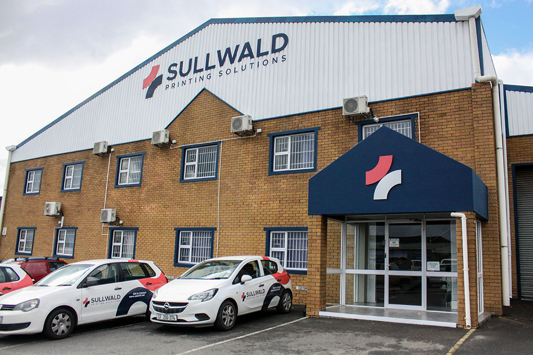 Sullwald Printing Solutions office based in Brackenfell, Cape Town.