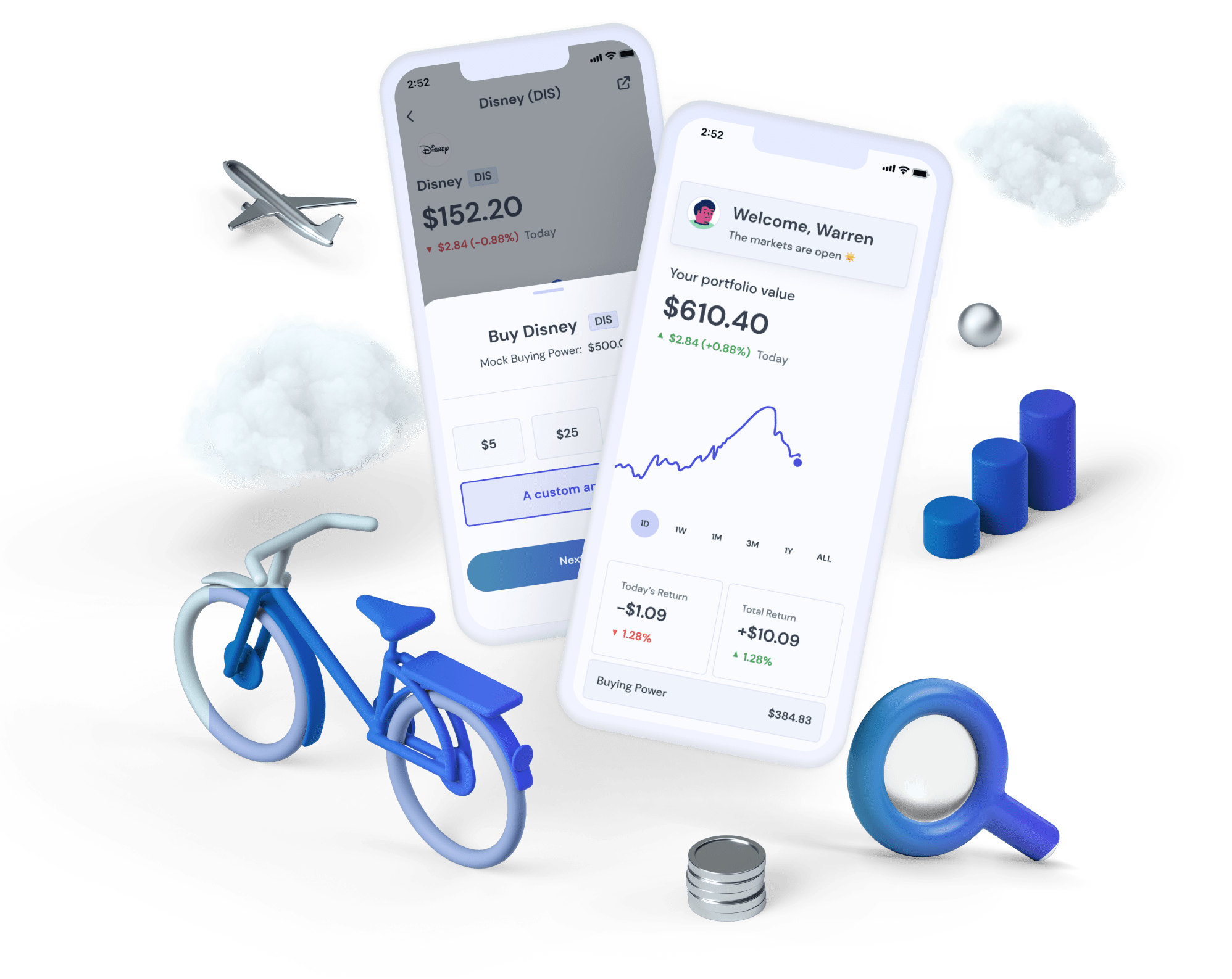 Bloom   Investing app for teens preview