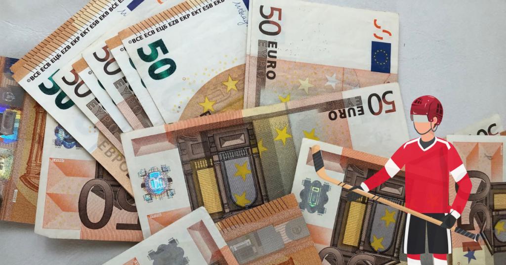 European hockey leagues salary