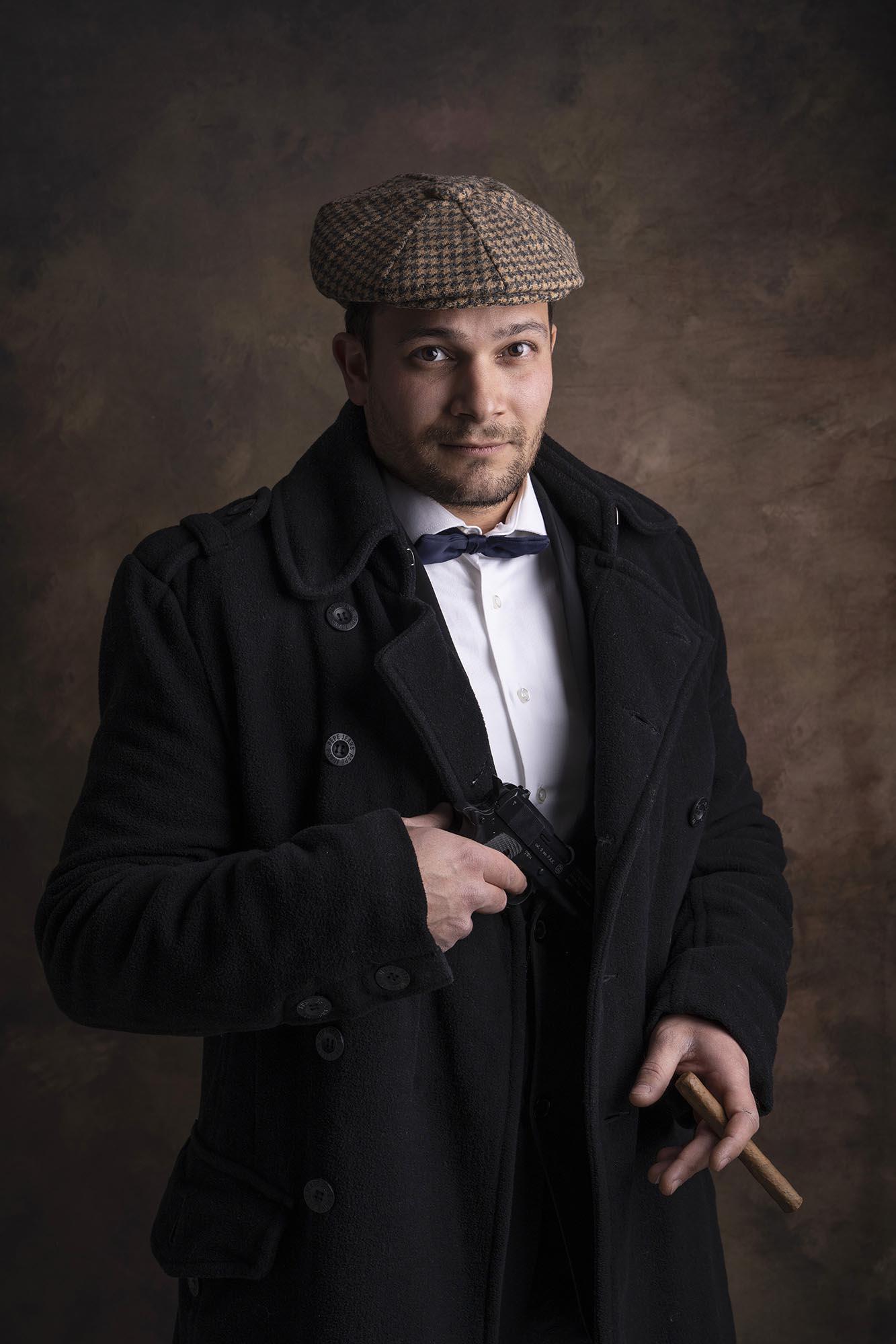 photographe-portrait-homme-inspiration-peaky-blinders-studio-stephanie-avon