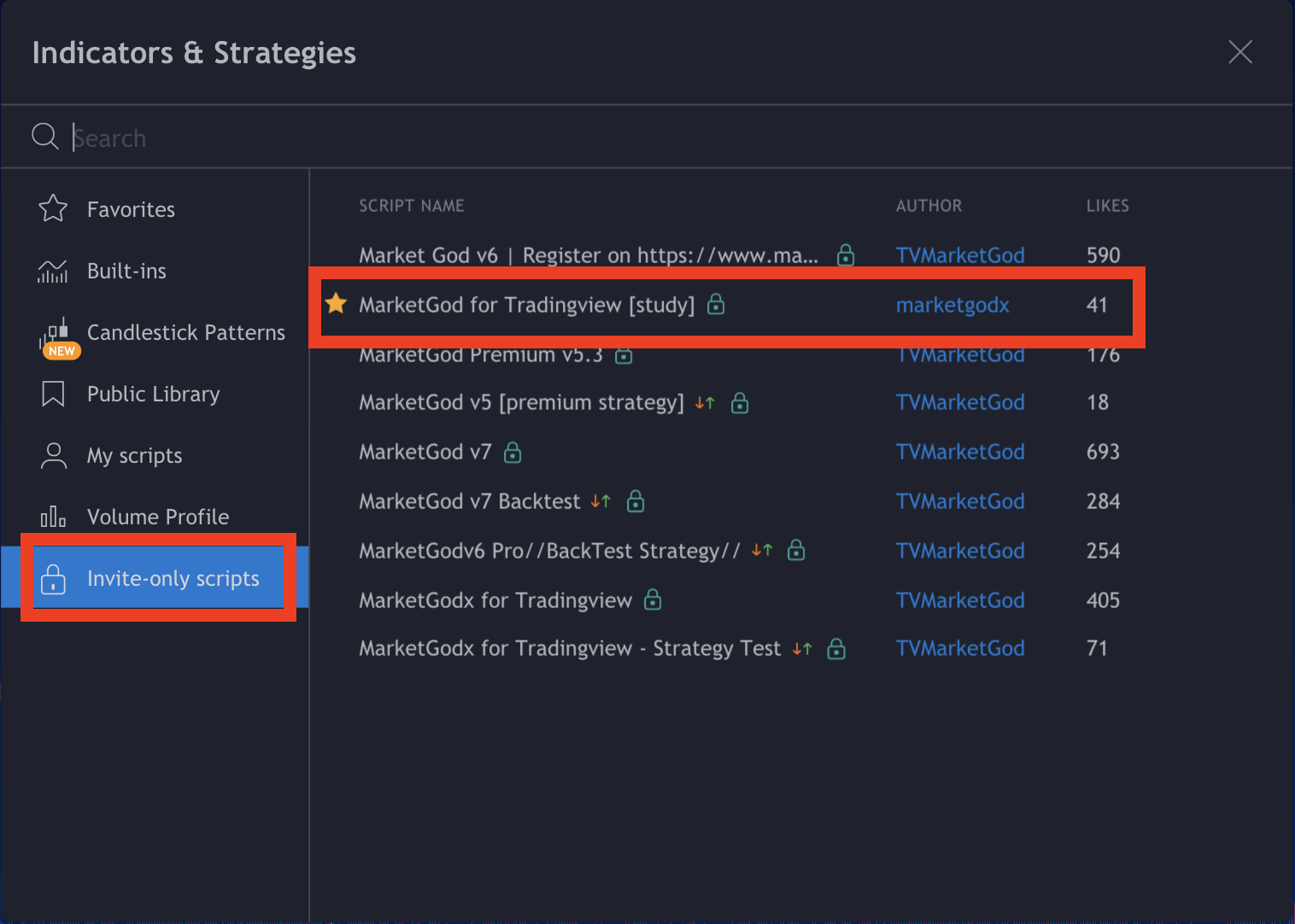 tradingview buy and sell alerts marketgod