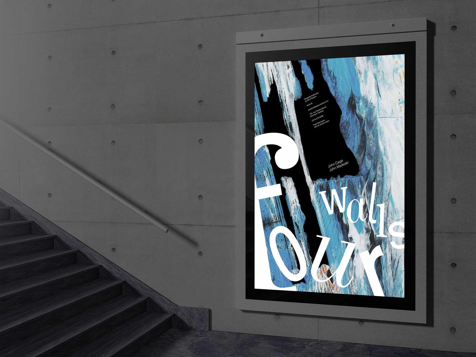 underground Poster mockup
