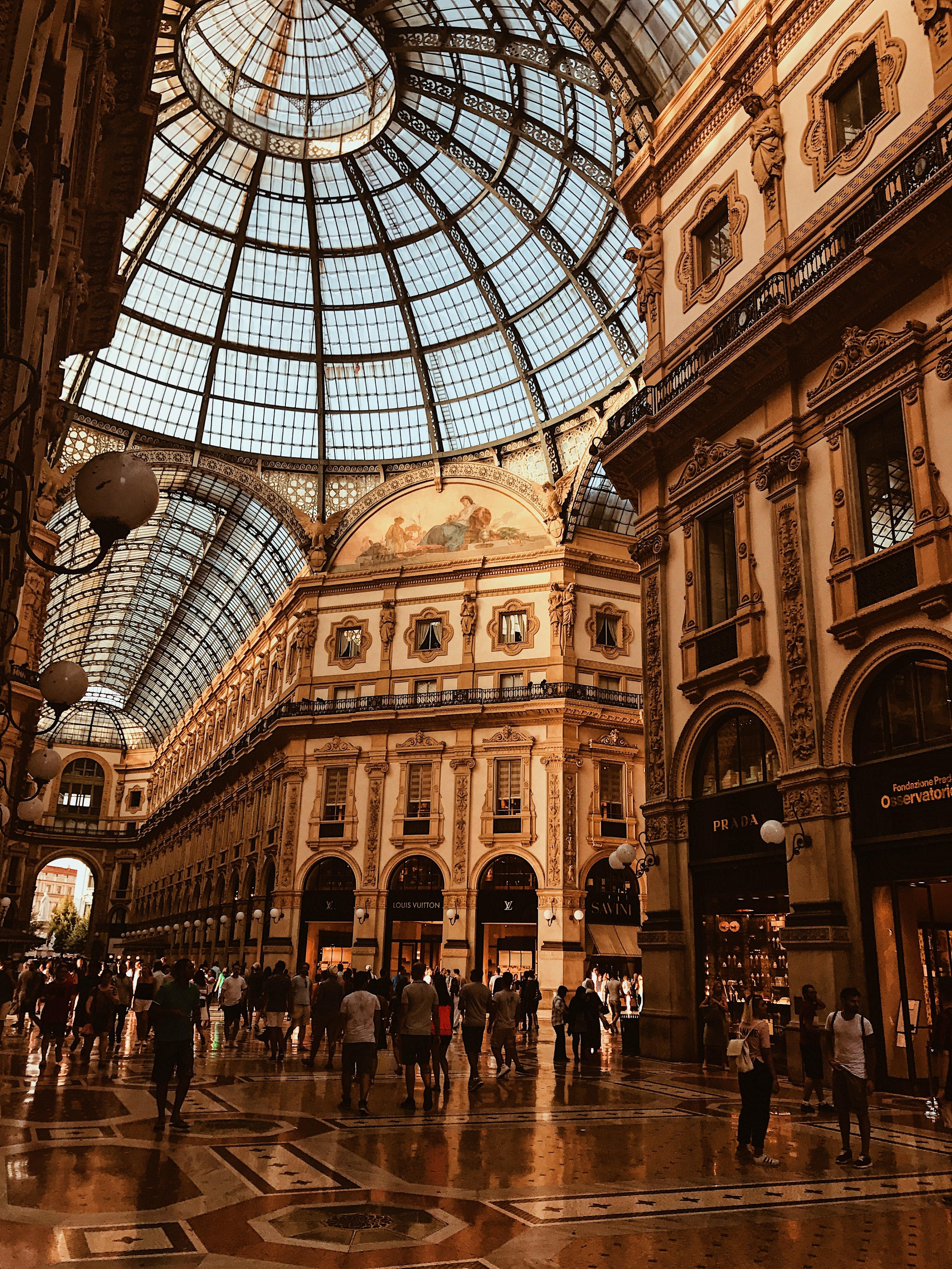 Milan, Italy building