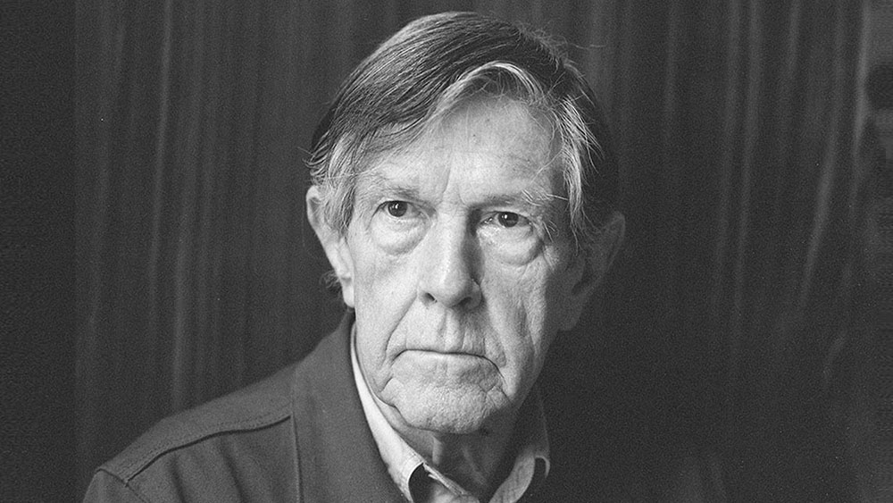 an image of the composer John Cage