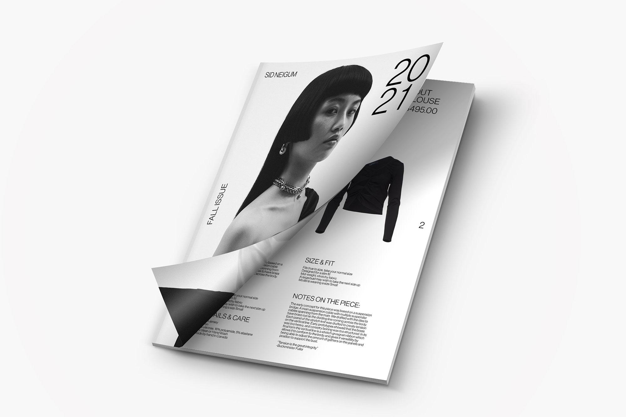 Sid Neigum magazine mockup
