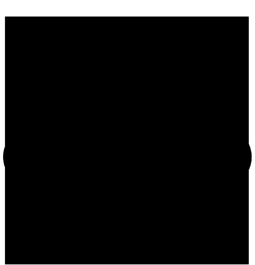 Schwarz gefärbter 3D Kopf Model