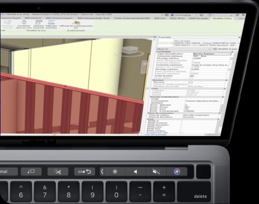 photo écran ordinateur maquette 3D