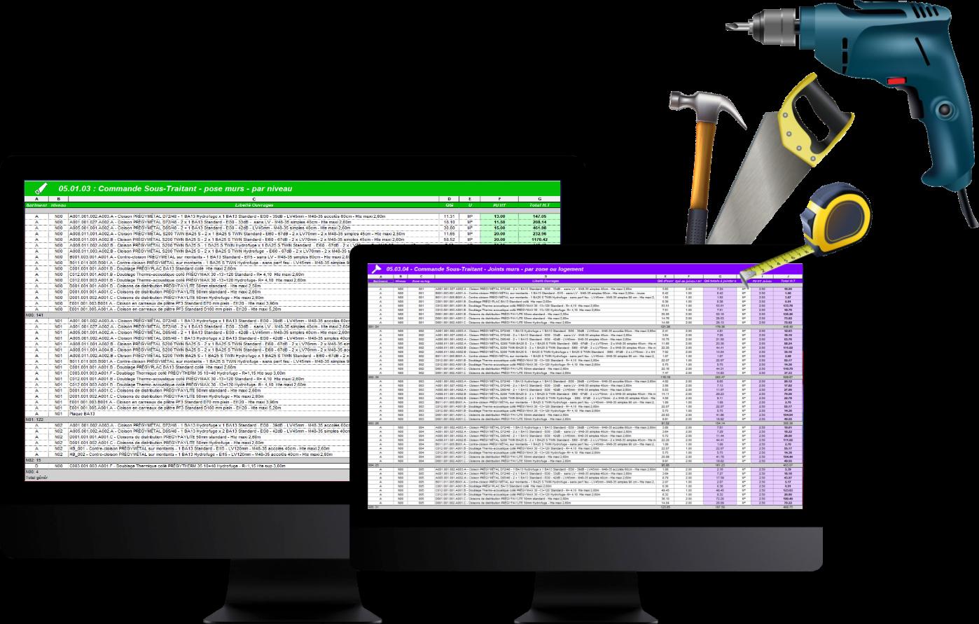 photo 2 écrans d'ordinateur