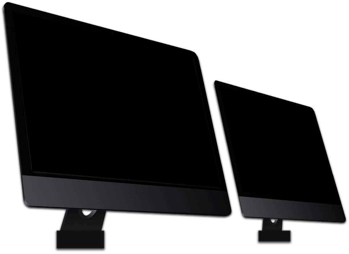 photo 2 écrans ordinateur