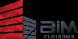 logo BiM Cloisons rouge et noir