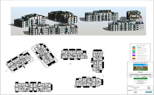 plan 3D et 2D logements