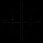 icône d'illustration en noir et blanc globe terrestre