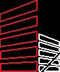 logo Bim cloisons rouge et blanc