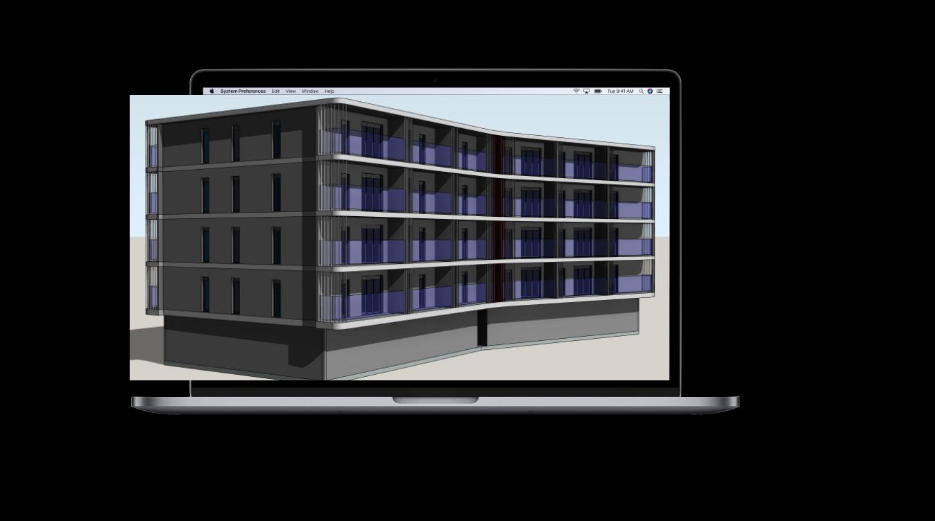 écran ordinateur maquette 3D