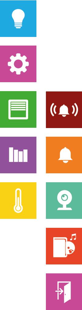 smart PLACE Würfel Icons vertikal