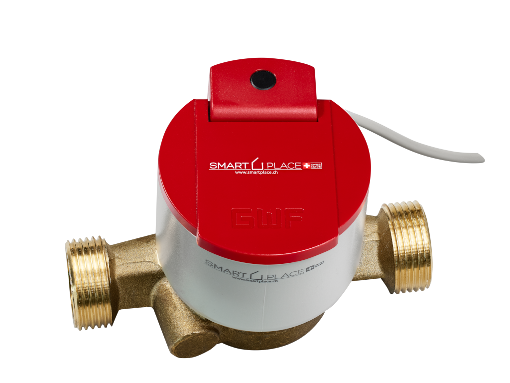 smart PLACE Wasserzähler warm