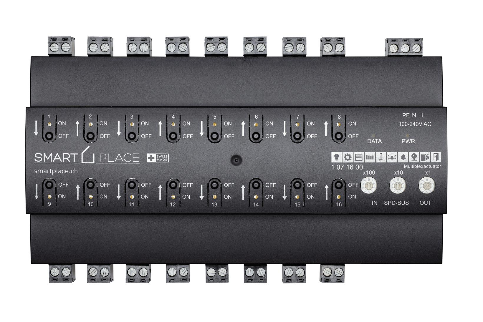 Multiplex Aktor von smart PLACE