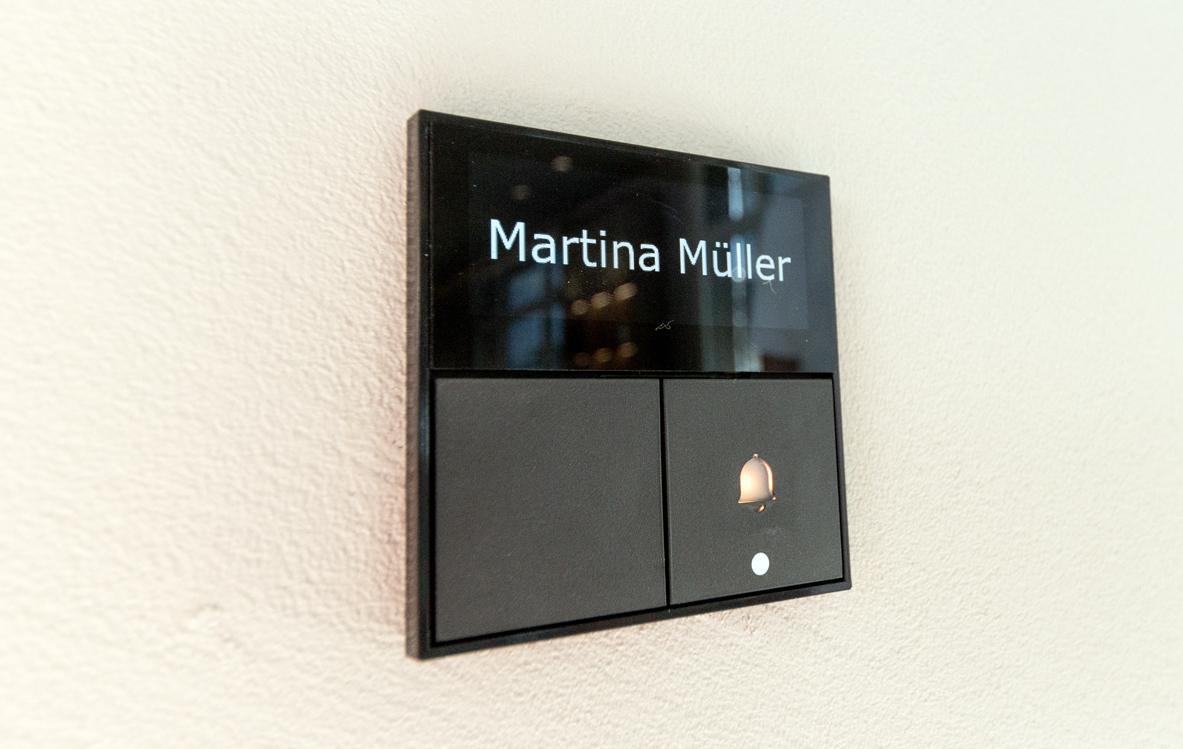 Display Taster von smart PLACE