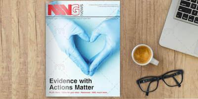 Image of NNNG Newsletter on a desk
