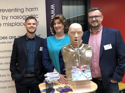 Image of the NGPod Team at the NNNG Conference