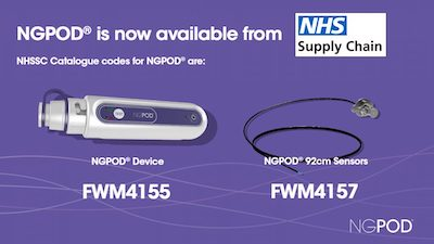 NGPod is now available from NHS Supply Chain - article image