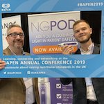Marcus Ineson and Cameron Thorpe at BAPEN in Northern Ireland