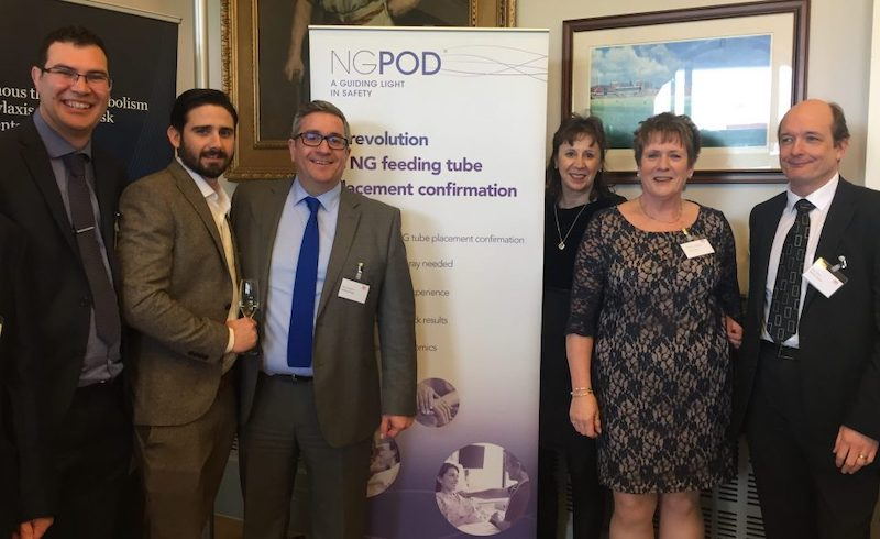 Image of the NGPod team at Medilink North West