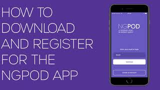 How To Download and Register On The NGPOD App