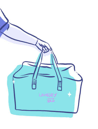 wosh folded bag