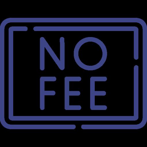 no fee