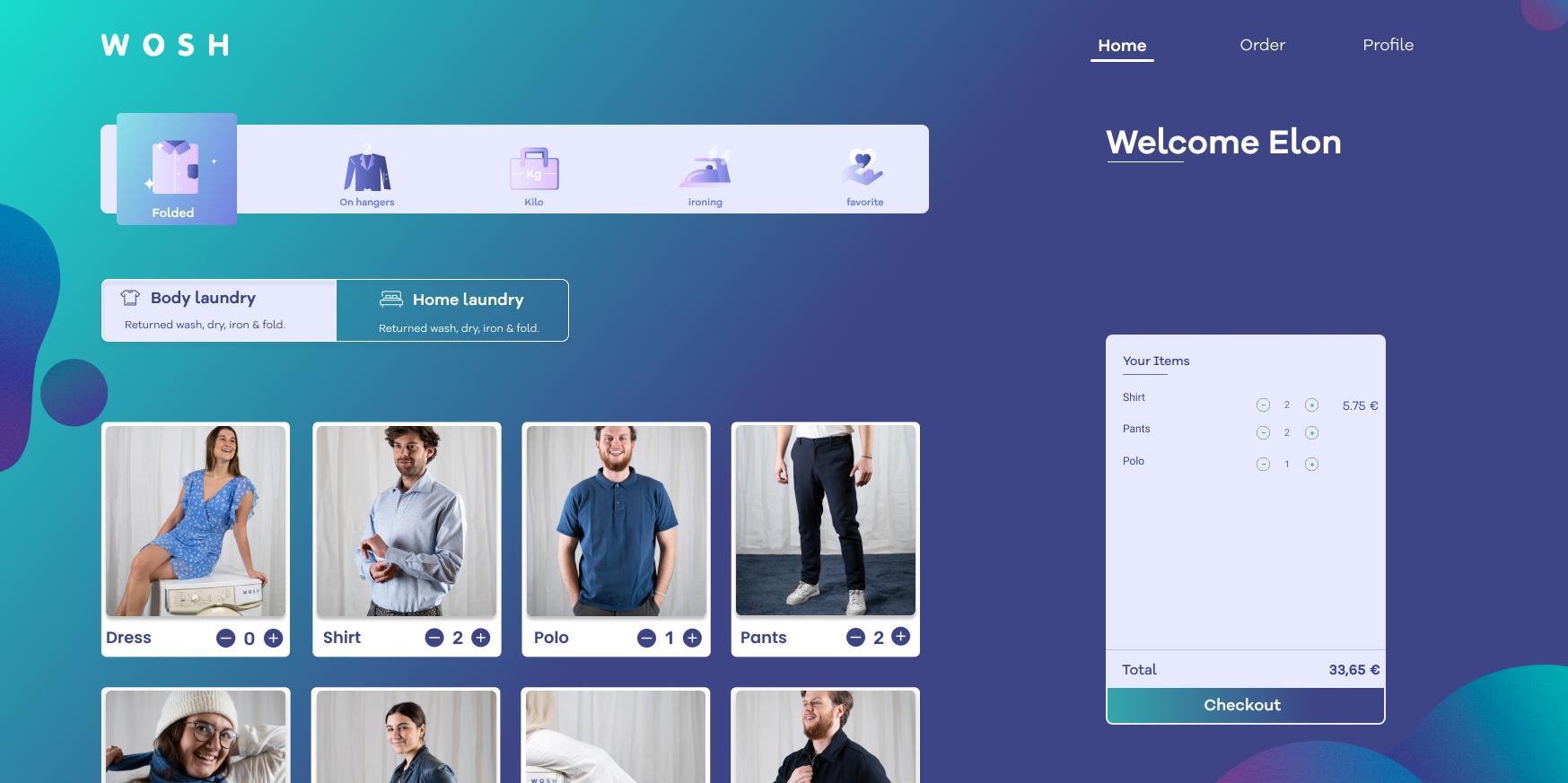 App and web app illustration