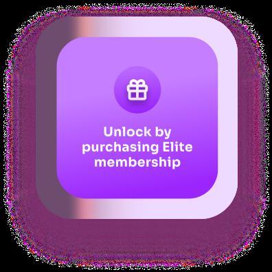 Unlock by purchasing elite membership