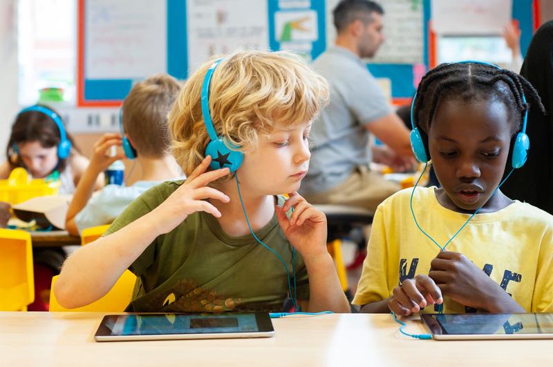 Digital learning at Lyndhurst Primary School